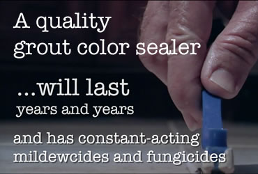 The Advantages of Grout Color Sealing
